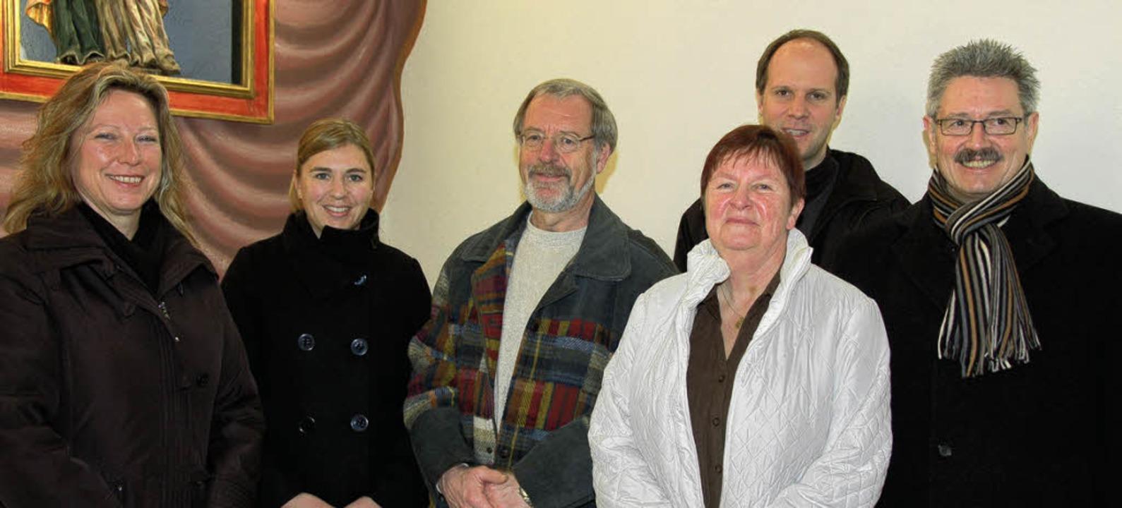 Zeigten Einsatz: Dr. Stefanie Krause (...atthias Baumann (rechts) gratulieren.   | Foto: Jutta Binner-Schwarz