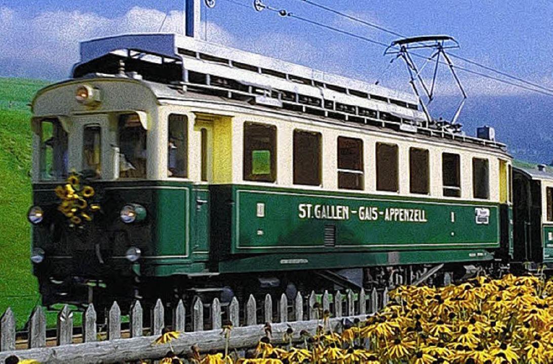 Per Zug nach Appenzell     Foto: Privat