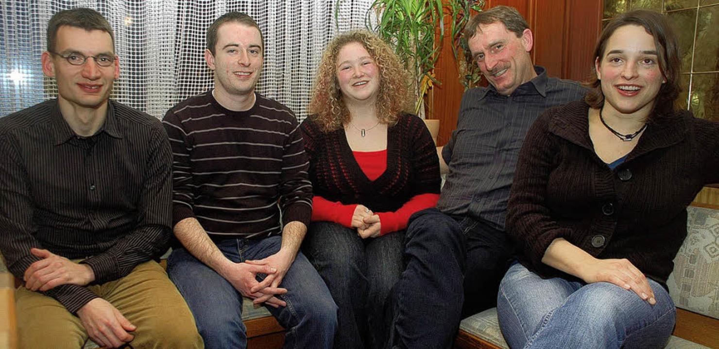 Der Vorstand in teils neuer Besetzung ...ber, Klaus Huber  und Kathrin Hilpert   | Foto: bingold