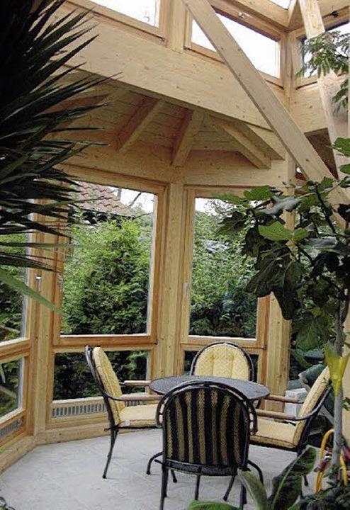 Qualitativ hochwertig gebaute Holzhäuser überdauern Generationen.     Foto: Holzbau Krebs