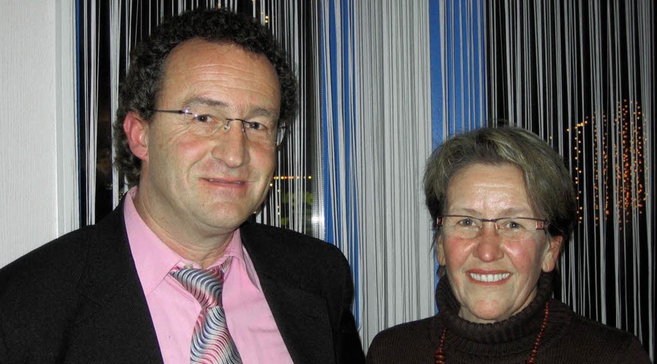Ein bekanntes und ein neues Gesicht im...ach: Siegfried Metzger und Dora Werner  | Foto: Katja Mielcarek