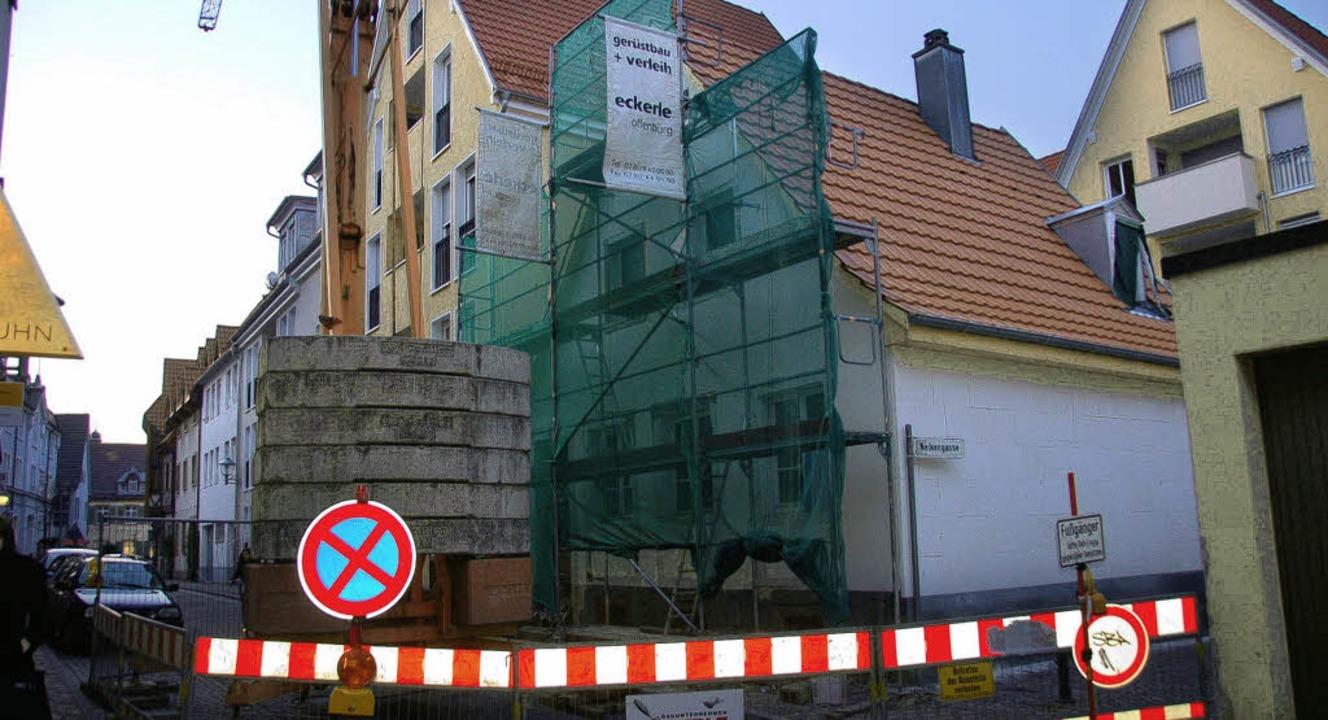 Vor dem Abriss gerettet, jetzt wird sa... -Bühlers Haus in der Glaserstraße 7.   | Foto: Ralf Burgmaier