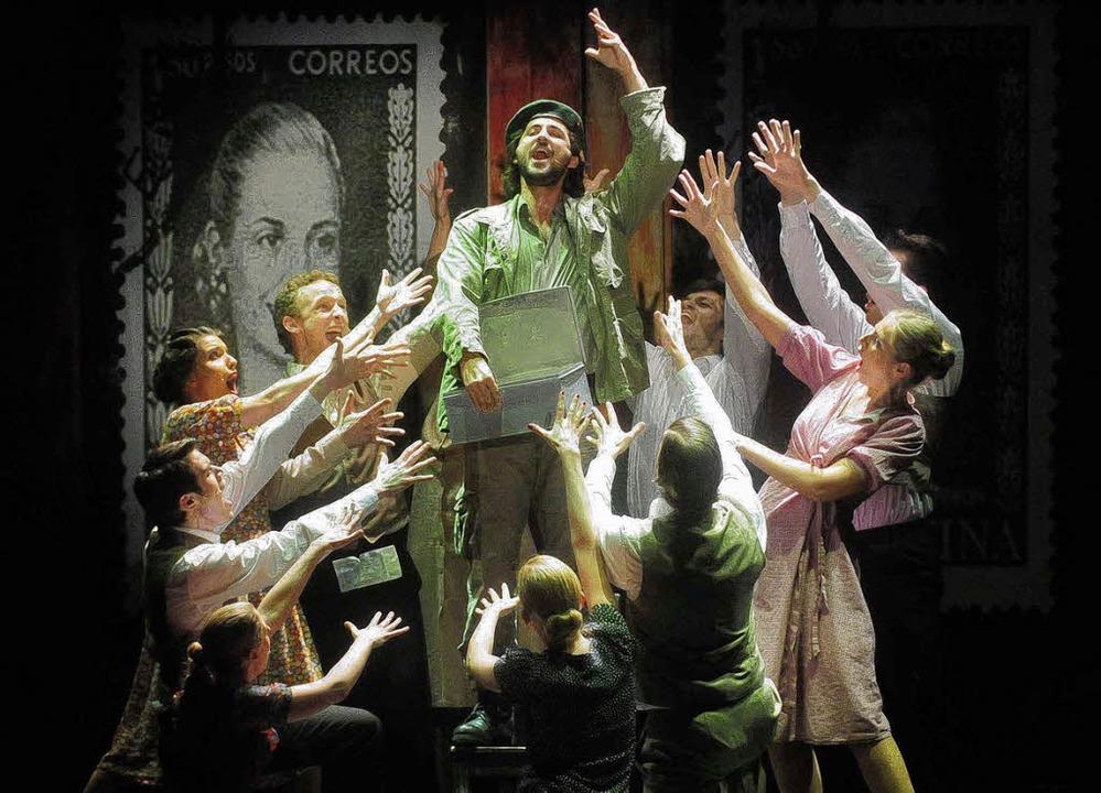 Che Guevara als Gegenspieler der Populistin Evita Peron   | Foto: W.  Künstle