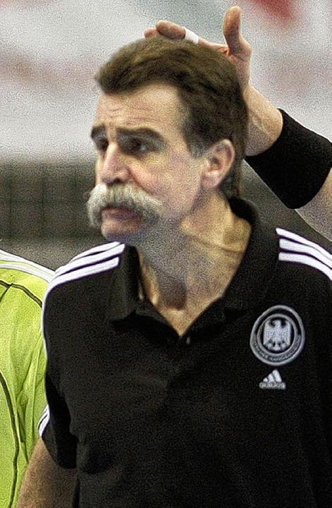 Erkannte sich selbst kaum wieder: der ...r Brand nach dem Spiel gegen Norwegen     Foto: dpa