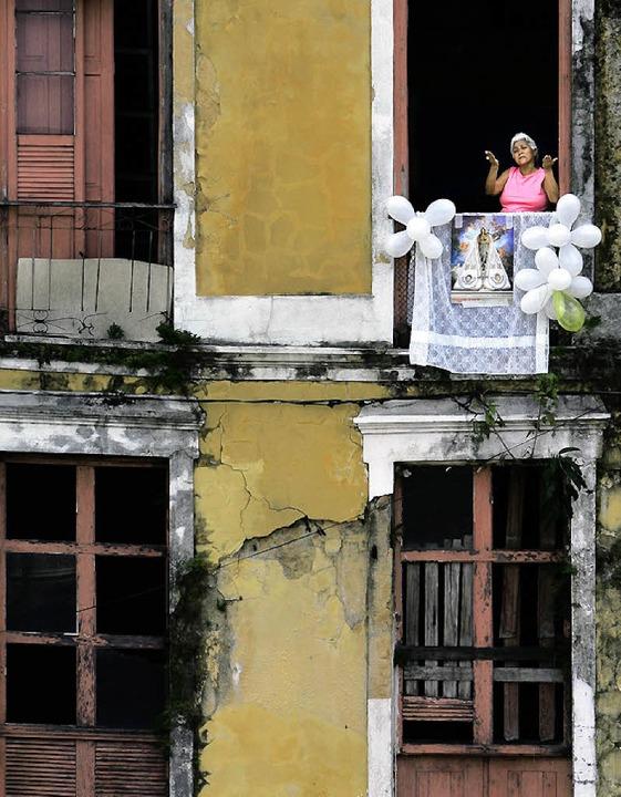 Hausfassade in Belém  | Foto: afp
