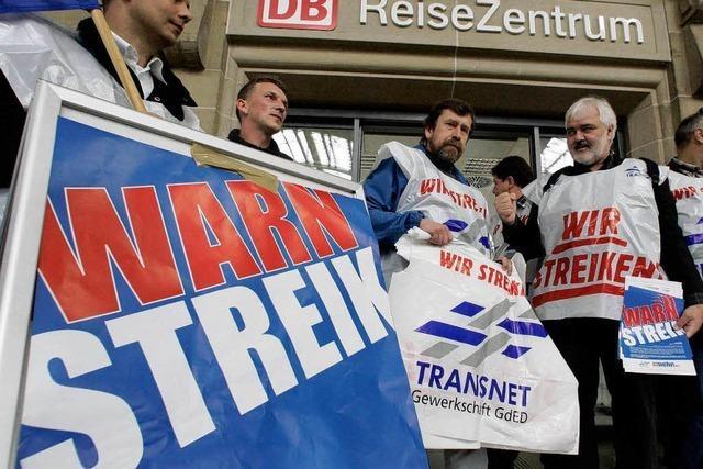 Der Bahn stehen wieder Streiks ins Haus