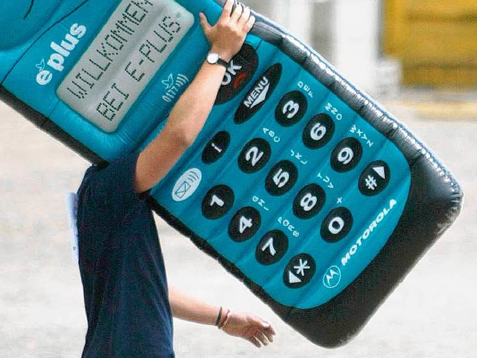 17,8 Millionen Menschennutzen E-Plus m...dürften dabei kleiner sein als dieses.  | Foto: ddp