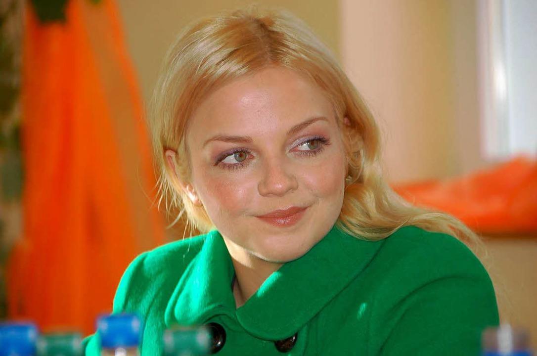 Blond beim Pressegespräch 2007  | Foto: Ralf Burgmaier