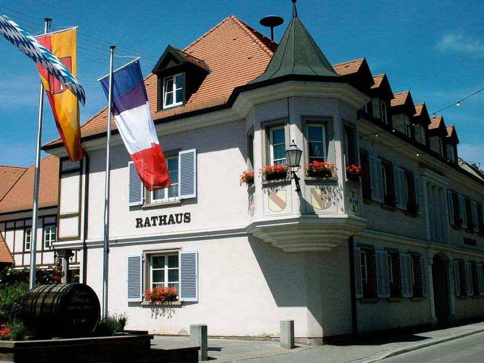 Im Ihringer Rathaus werden am 27. Sept...ister- und Bundestagswahl ausgezählt.     Foto: jakob-kölblin