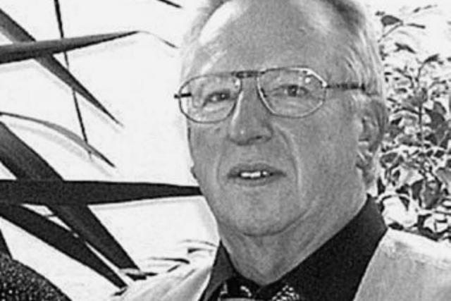 Helmut Dinner ist überraschend gestorben