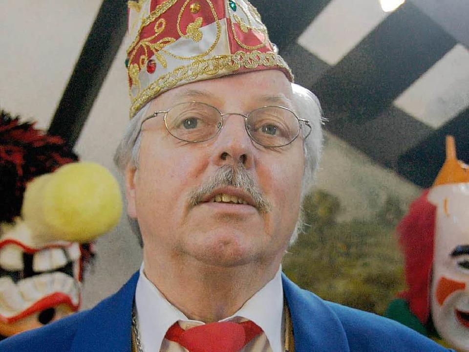 Oberzunftmeister  Wilfried Markus  | Foto: Ingrid Böhm-Jacob