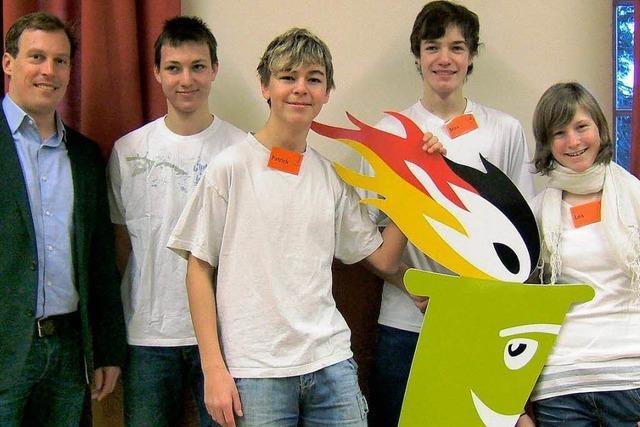 Team der Realschule Kirchzarten siegte
