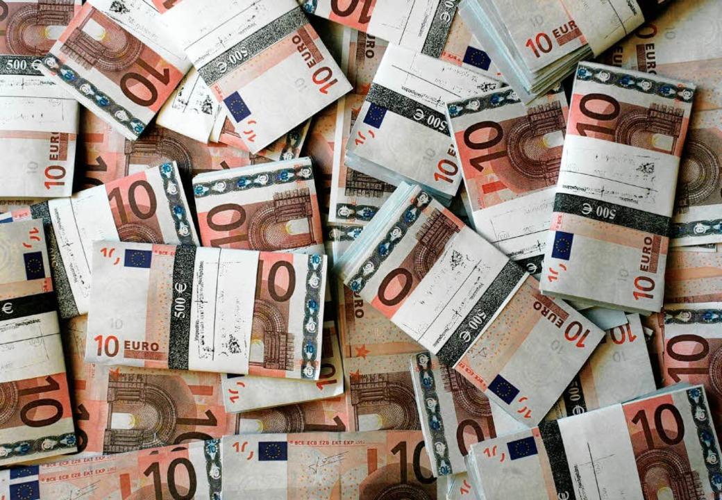 Geld braucht die Gemeinde Ihringen 2009 nicht aufzunehmen.    Foto: dpa