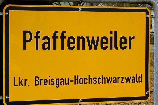 Bürgerversammlung in Pfaffenweiler
