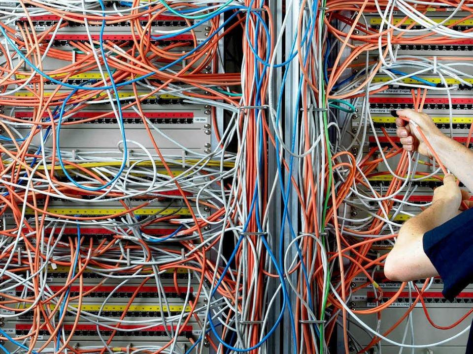Durcheinander bei der Telekom: Hundert...n waren tagelang im Internet abrufbar.  | Foto: ddp