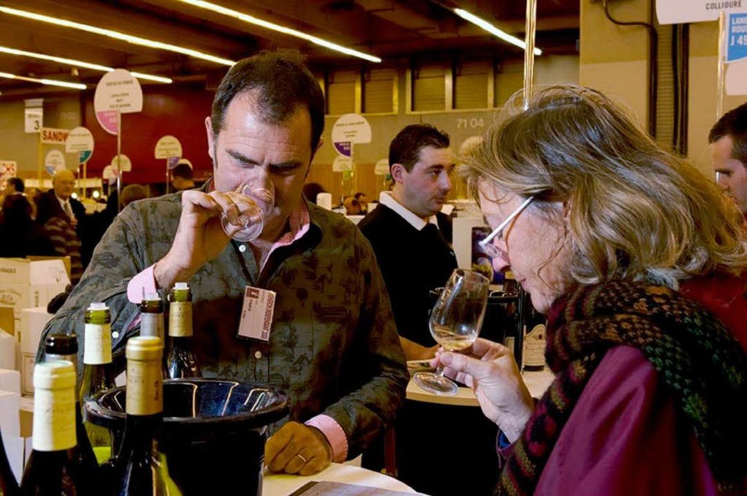 Die Weinmesse in Straßburg bietet über 2500 Weine zum Probieren.  | Foto: Promotion