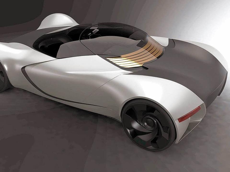 Der neue Schluckspecht soll mit einem Elektromotor fahren.    Foto: hochschule