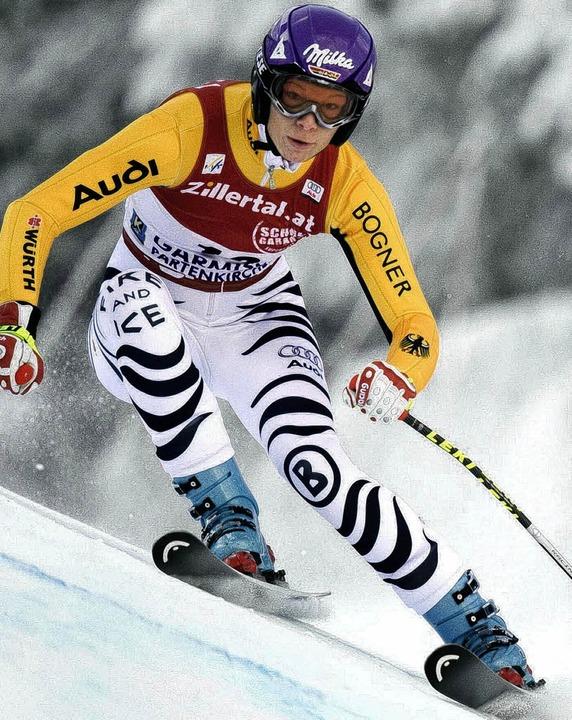 Auf ihr ruhen die  Hoffnungen bei der Ski-WM: Maria Riesch   | Foto: ddp