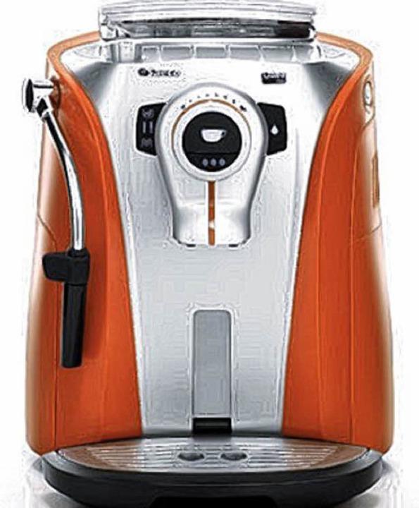 Von Brautpaaren oft gewünscht:  Kaffeevollautomaten  | Foto: pr