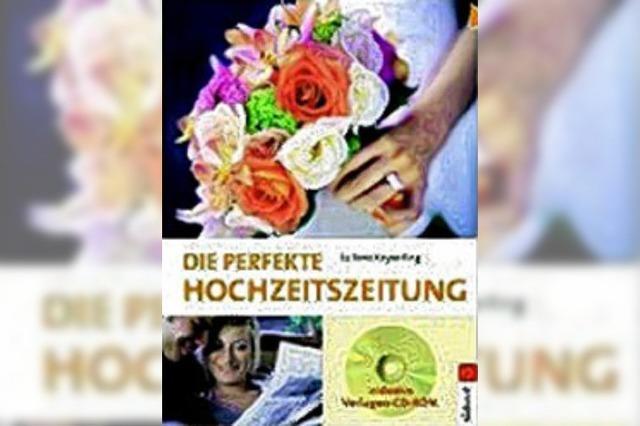 BUCHTIPP: Hochzeitszeitung selber machen