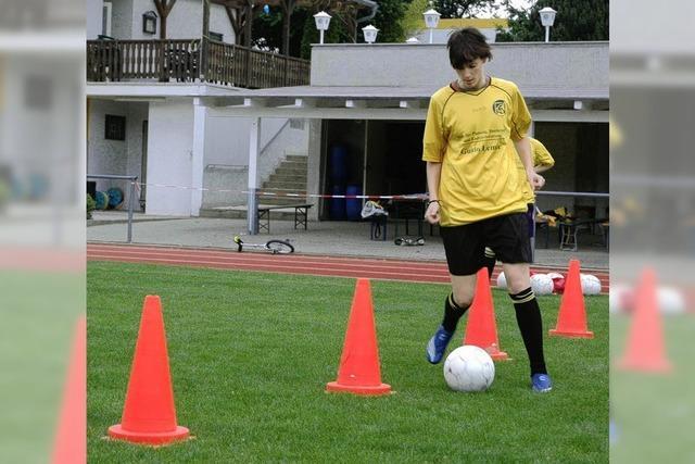 Der Mädchenfußball in Neuenburg boomt