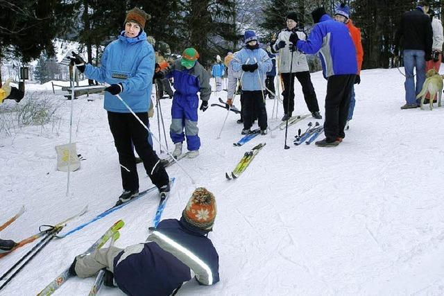 Einfach mal auf die Skier stehen – das wollten viele ausprobieren