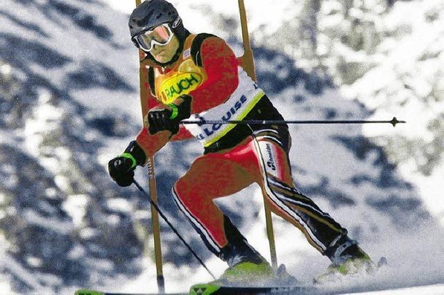 Mit 83 Jahren noch ein Ski-Ass