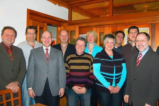 CDU Minseln stellt Kandidaten vor