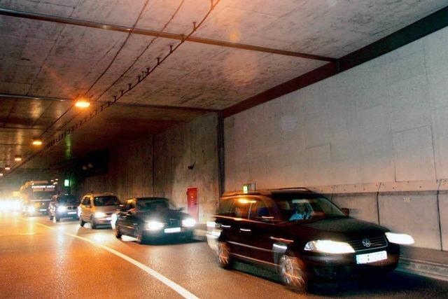 Der B-31-Tunnel wird nachgerüstet