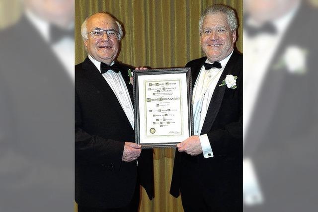 Moles Award für Martin Herrenknecht