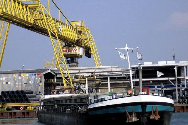 Kehler Hafen mit neuem Rekord