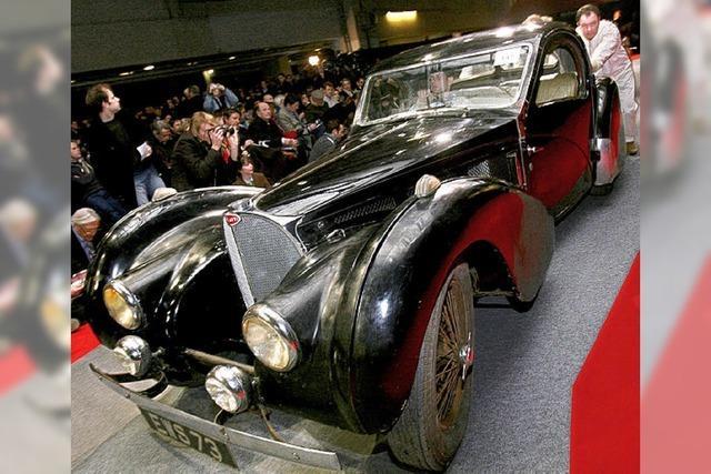Seltener Bugatti bringt 3,5 Millionen Euro