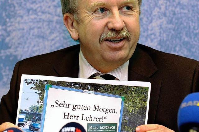 Baden-Württemberg geht bundesweit auf Lehrersuche
