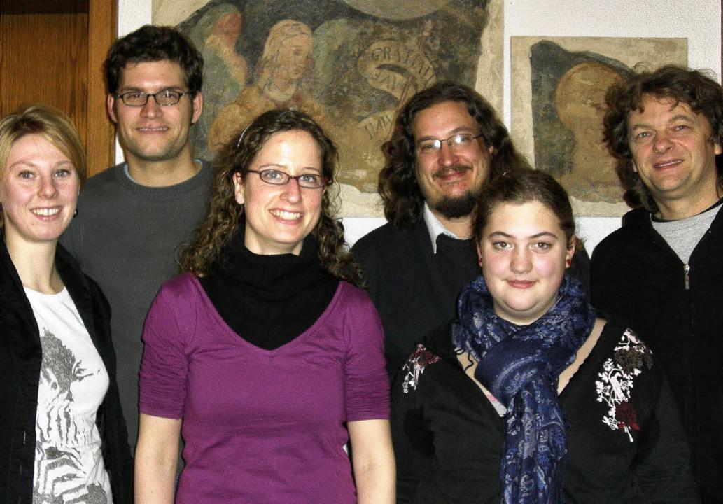 Der neu gewählte Vorstand (von links):...uch, Maria Saier und Wolfgang Gerbig    | Foto: Alexandra Wedl