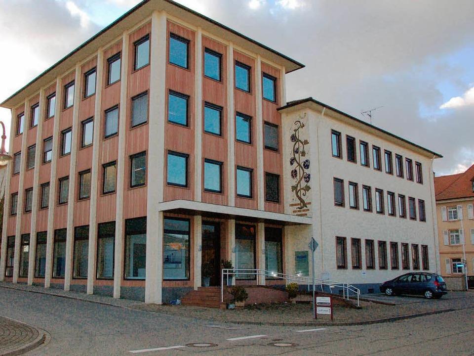 Die Firma Maxit verlässt Breisach Ende Februar.    Foto: Gerold Zink