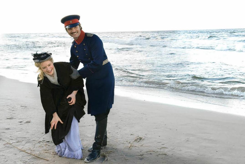 Effi (Julia Jentsch) und Crampas (Misel Maticevic)  | Foto: constantin