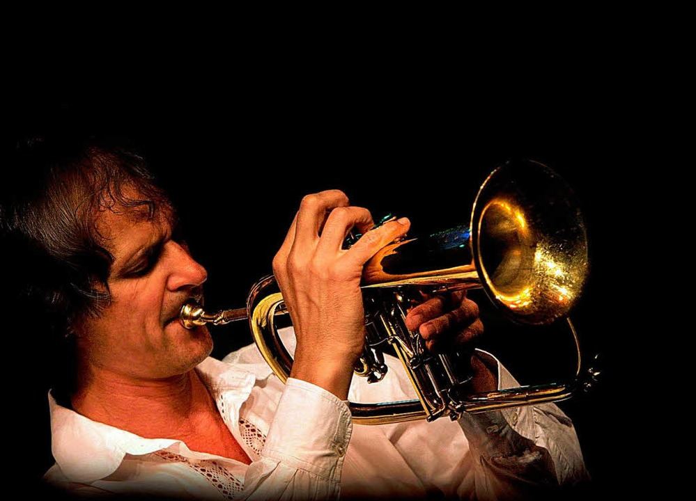 Glühender Klang: der Trompeter Markus Stockhausen    Foto: Pro