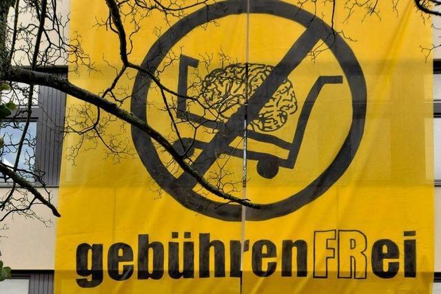 Gebühren-Boykott an der Uni Freiburg gescheitert