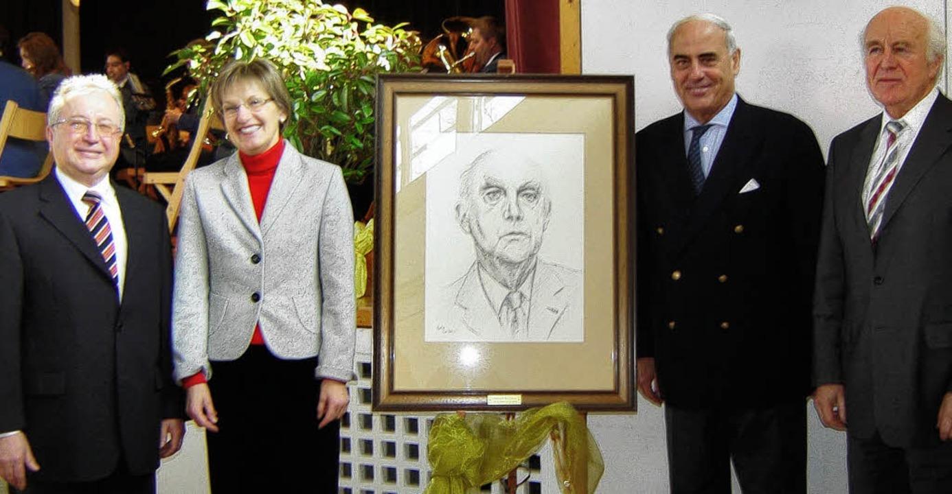 Politische Prominenz bei der  Gedenkfe...rungspräsident  und a.D.  Nothhelfer    | Foto: Bianca Flier