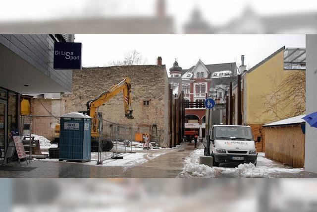 Am Chesterplatz wird demnächst wieder gebaut