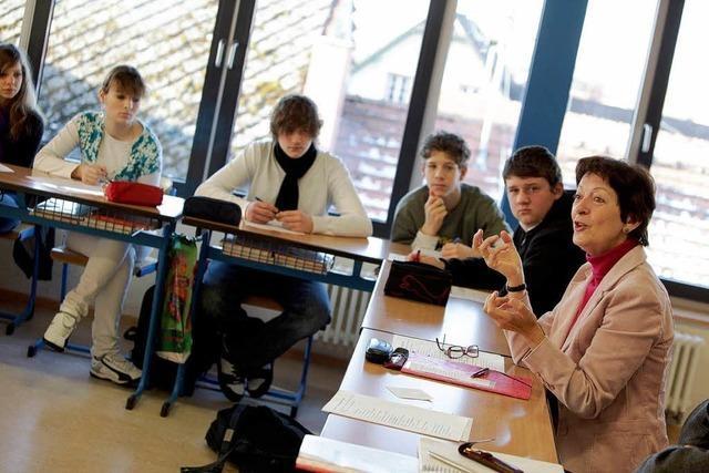 Politikerin besucht Meißenheimer Schule