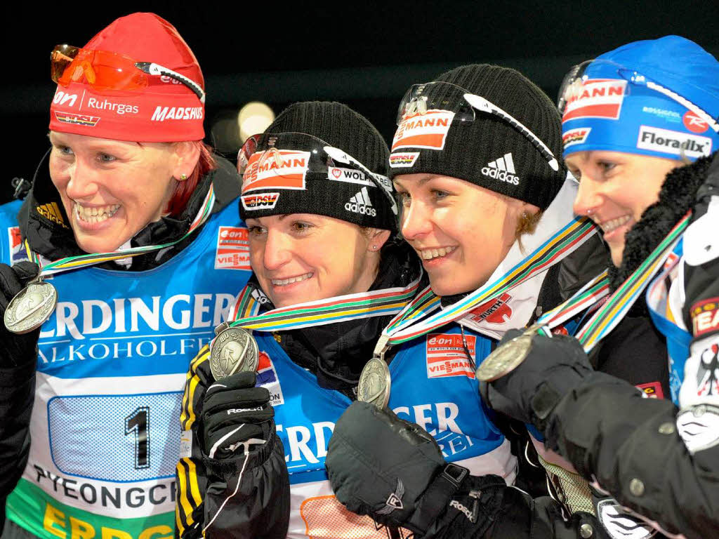 Staffel Damen Biathlon