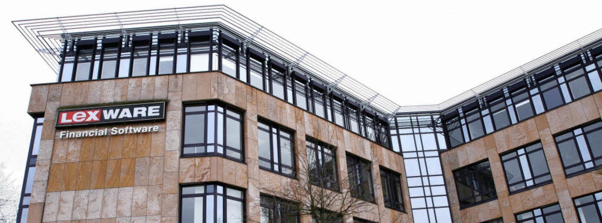 Der Lexware-Firmensitz im Freiburger G...ohin die Messe Cebit sich entwickelt.     Foto: Rita Eggstein