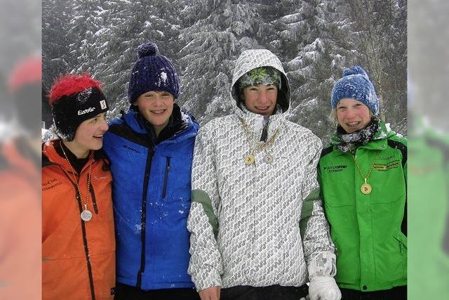 Heitersheimer Schüler sind talentierte Skiläufer