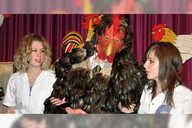 Hürus Giovanni ist der Hahn im Korb