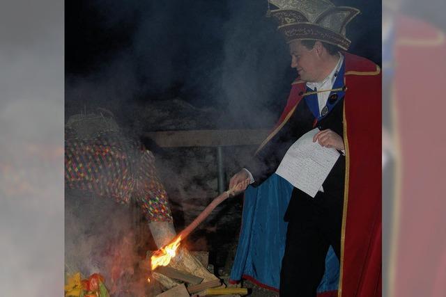 Der Bantle brannte lichterloh