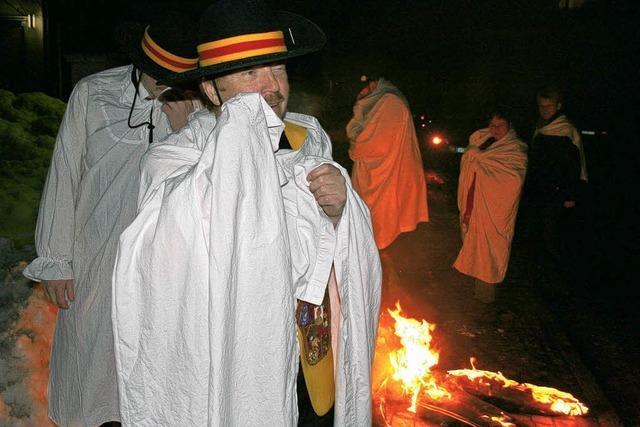 Vorbei, vorbei: Fasnacht in Flammen