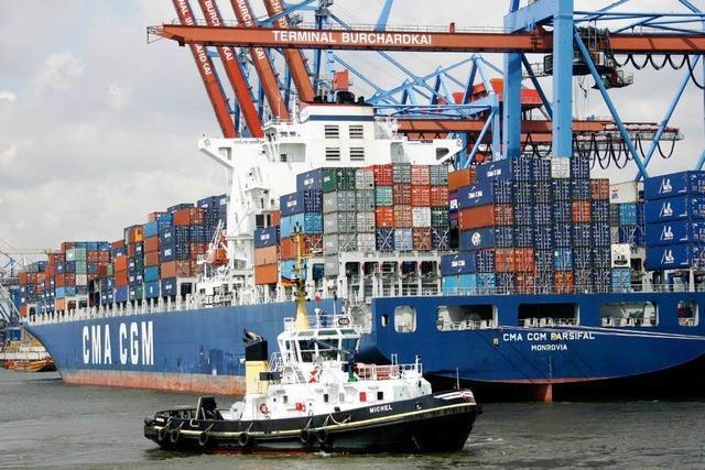 Exporteinbruch reißt Deutschland tief in die Rezession