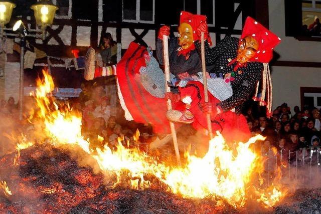 Hexenverbrennung in Offenburg