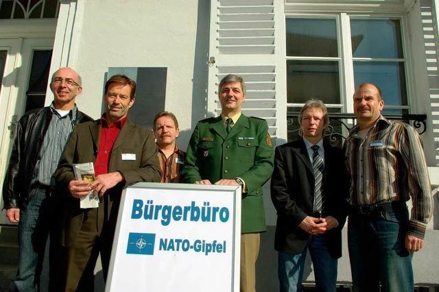 Bürgerbüro Nato-Gipfel in Kehl eröffnet